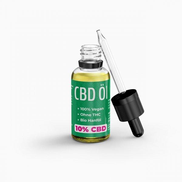KDM Liquids CBD Öl 1000 mg CBD