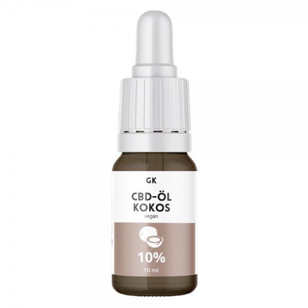 GK CBD Vollspektrum Öl Kokos 10%
